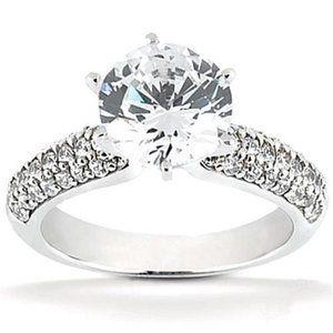 Jewelry - 2.75 ct. diamonds Diamond solitaire ring with